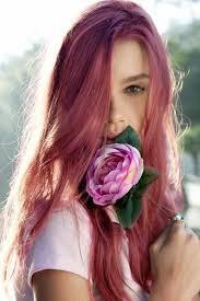 Les 25 Meilleures Id Es De La Cat Gorie Cheveux Rose Fonc Sur