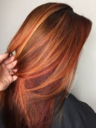 Fall Hair Red Hair Copper Hair