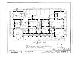Plantantion Mansion House Plan  HOUSEPLAN  Pinterest Historic Homes Floor Plans