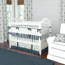 baby crib bedding sets for boy gray and navy raindrops baby crib bedding  gray and navy
