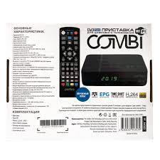 Цифровой телевизионный ресивер <b>DVB</b>-<b>T2</b>/C <b>PERFEO COMBI</b> ...