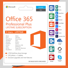 Windows 365 Office Hot Deal Microsoft Office 365 Pro Lifetime Licensed 1tb Onedrive For 5pcs Windows Mac Android Ms Office Works Uk