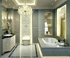 bathroom with chandelier bathroom chandelier