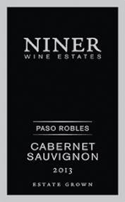 Niner Size Chart Niner 2013 Estate Grown Cabernet Sauvignon Paso Robles
