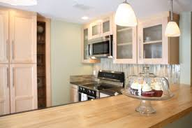 Yellow Wall Kitchen Kitchen Remodel Ideas Dark Cabinets Round Stools Yellow Wall