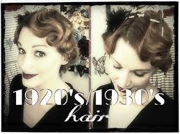 1920 Hair Style faux finger waving 1920s1930s hair tutorial youtube 7663 by wearticles.com