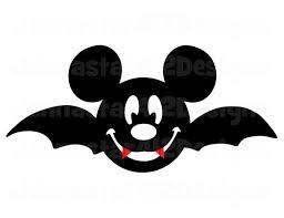 Halloween Mickey Face Bat Diy Printable By Jennastar412designs