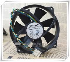 popular foxconn cpu fan buy cheap foxconn cpu fan lots from original foxconn pv902512p 12v 0 40a 9cm 9025 4 wire round box cpu fan