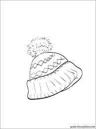 Wintermuts Kleurplaat Gratis Kleurplaten