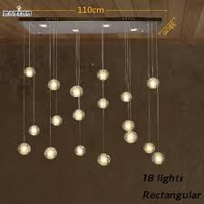 diy modern lighting. aliexpresscom buy diy modern led crystal pendant lights fixtures magic ball lustre loft stairwell lighting meteor shower lamp from diy