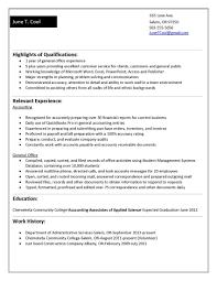 Resume Objective Statement Recent College Graduate Unique High