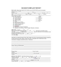 Police Incident Report Form Template 60 Incident Report Template