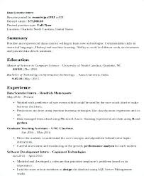 Good Looking Resumes Data Analyst Resume Template Data Analyst Resume Sample Scientist 78
