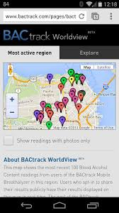 Breathalyzer Readings Chart Bactrack Bluetooth Breathalyzer Review Your Friday Night