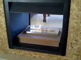 customer own wood shelf turned into bio fuel fireplace