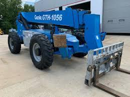 Genie 5519 Load Chart 12 Genie Gth 1056 Telehandler Telescopic Forklift 10000lb Lift 56ft Lull Reach