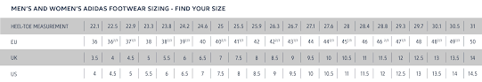 Adidas Clothing Size Chart Us