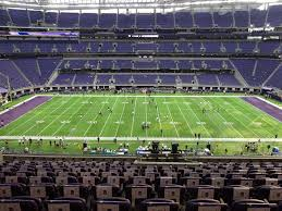 Us Bank Stadium View From Club Level C3 Vivid Seats