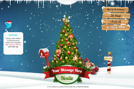 noelle christmas landing page template by profme themeforest preview 01 preview jpg