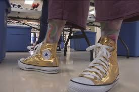 converse gold. penny gold converse chuck taylor all star collection (2) m