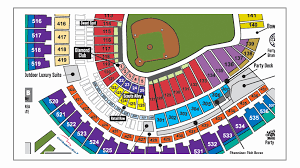 Gabp Concert Seating Chart Gabp Seating Chart With Rows Great American Ballpark Seating