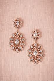 bhldn rose gold chandelier earrings