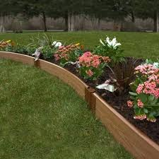 curved landscape edging edge curved composite board landscape edging kit outdoor and garden curved landscape edging