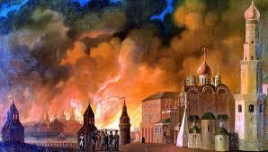 Московский пожар года и версии его возникновения РИА   Пожар Москвы в 1812 году