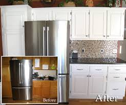 painting cabinets white before and afterDecor Disputes Can You Really Make Over Kitchen Cabinets in a