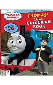 Learning rainbow colors.come to our party and have fun with us. Thomas And Friends Thomas Classic Colouring Book
