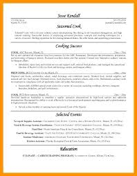fast food cook resumes line cook resume objective samples sample prep and orlandomoving co