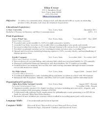 Free Resume Builder For High School Students Resume Maker For Students Blank Resume Template For High School 57