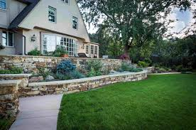 design and installation fredell enterprises colorado springs co custom mortared terraced retaining