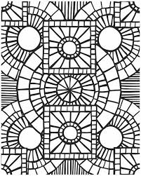 Mosaic Coloring Pages Picture 4 For