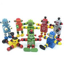 Alikeke 6 Pcs <b>Newest Creative Personality</b> Building Blocks <b>Toys</b> ...