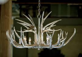 finest regina andrew design ambered silver leaf antler chandelier with regina andrew