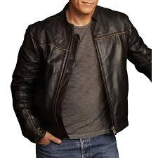 christopher chance human target black leather jacket zoom christopher