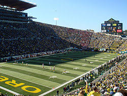 University Of Oregon Football Stadium Seating Chart Autzen Stadium Wikipedia