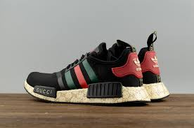 gucci 2017 shoes. 2017 cheap adidas originals nmd x gucci black running shoes