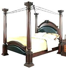 Antique Full Size Four Poster Bed Download Canopy Home King 4 ...