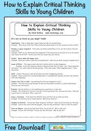 clear writing and critical thinking