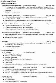 Personal Interests On Resumes Resume Personal Interests Sample Cv New Zealand Format Job Resume