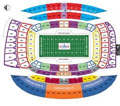 Tiaa Stadium Seating Chart Nfl Stadium Seating Charts Stadiums Of Pro Football
