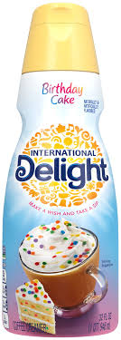 Milk is one of the best options you can add to your coffee. International Delight Birthday Cake And Cannoli Creamer Popsugar Food