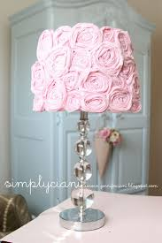 Shabby Chic Table Lamps For Bedroom Do It Yourself Shabby Chic Lampshade I Have This Lamp In My