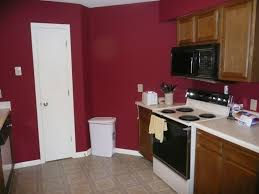 Kitchen Cabinets Painted Red Maroon Kitchen Paint 11550620170515 Ponyiexnet Interesting