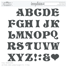 Templates Alphabet Letters Free Printable Cut Out Letters For Posters Luxury Alphabet
