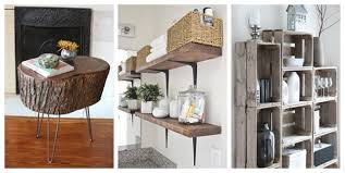 Diy Rustic Home Decor Ideas Model Custom Design Inspiration