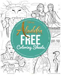 .book page | how to color pages for girls'' thanks to inspiration: Aladdin And Prince Jasmine Coloring Pages Free Printables April Golightly