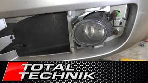 How To Remove Fog Light Fog Lamp Audi A4 S4 B6 2001 2005 Total Technik